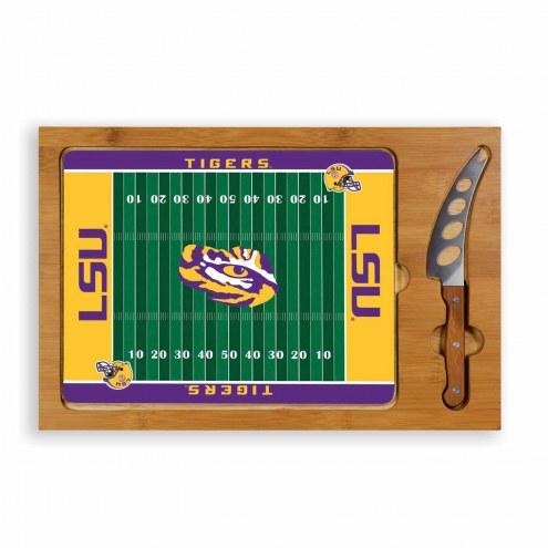 LSU Tigers Icon Cutting Board