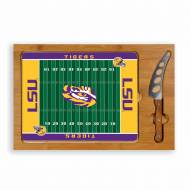 LSU Tigers Icon Cutting Board