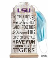 LSU Tigers In This House Mask Holder