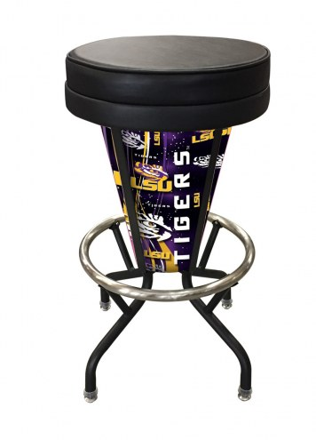 LSU Tigers Indoor/Outdoor Lighted Bar Stool