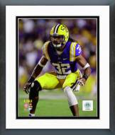 LSU Tigers Jalen Collins Action Framed Photo
