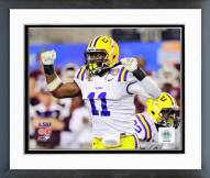 LSU Tigers Kelvin Sheppard Action Framed Photo