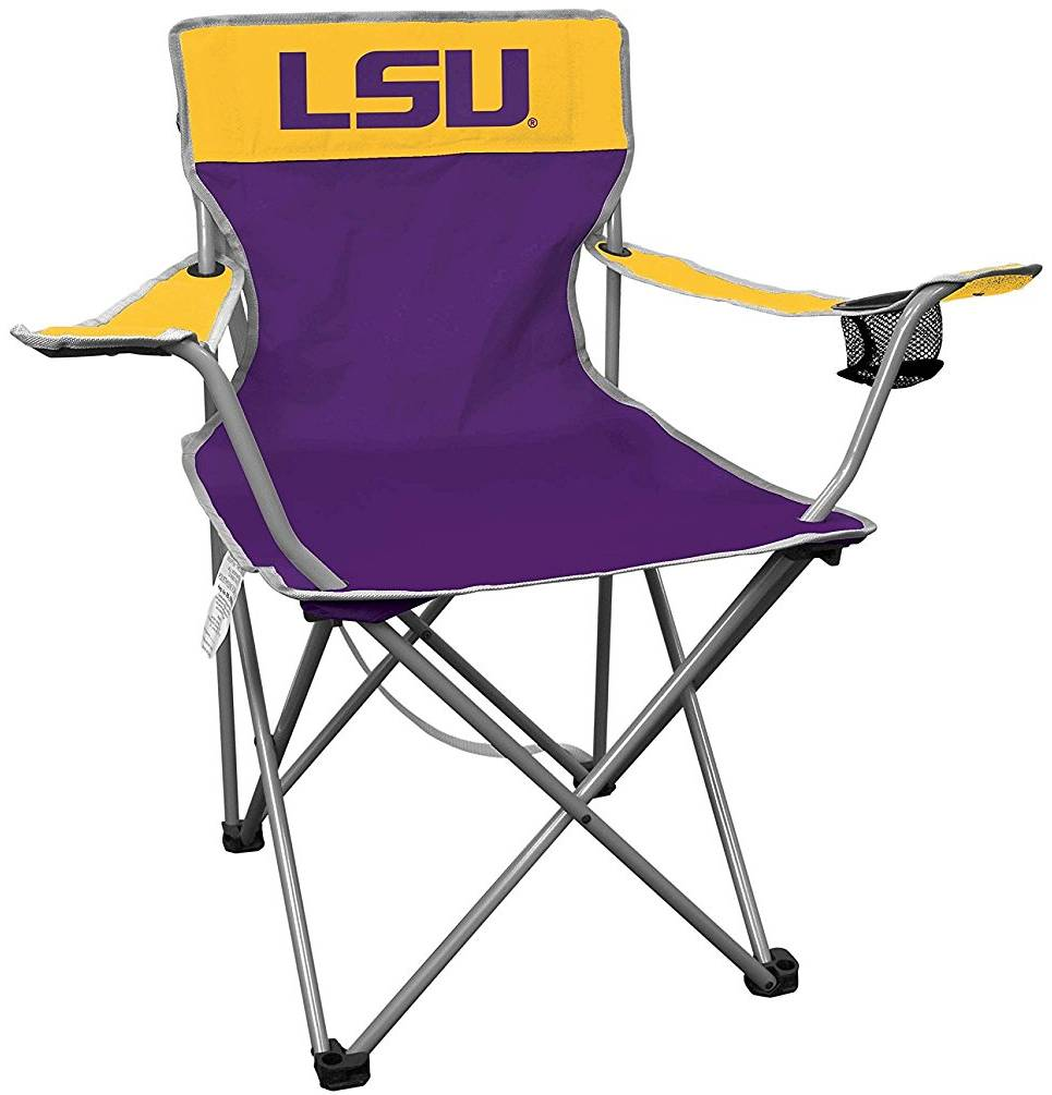 Genial Get Ready For Football Season With The LSU Tigers Kickoff Quad Folding Chair!  Thereu0027s Nothing Quite Like A Fall Tailgate Full Of Anticipation For The ...