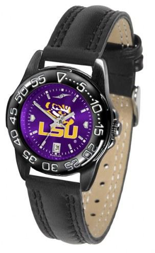 LSU Tigers Ladies Fantom Bandit AnoChrome Watch