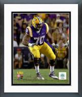 LSU Tigers La'el Collins Action Framed Photo