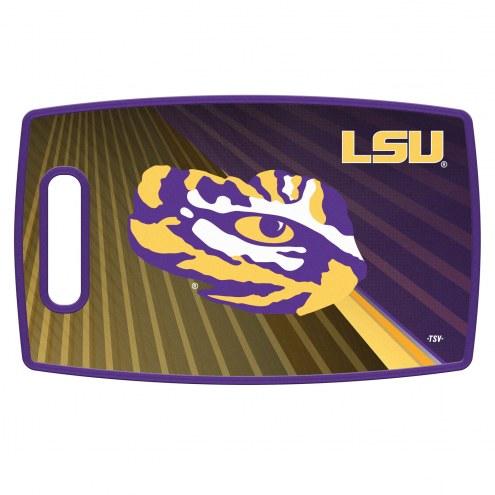 LSU Tigers Large Cutting Board