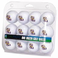 LSU Tigers Dozen Golf Balls