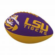 LSU Tigers Logo Junior Rubber Football