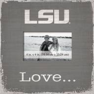 LSU Tigers Love Picture Frame