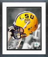 LSU Tigers LSU Tigers Helmet Spotlight Framed Photo