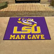 LSU Tigers Man Cave All-Star Rug