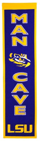 LSU Tigers Man Cave Banner
