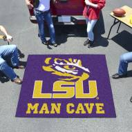 LSU Tigers Man Cave Tailgate Mat