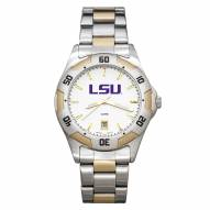 LSU Tigers Men's All-Pro Two-Tone Watch
