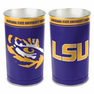 LSU Tigers Metal Wastebasket