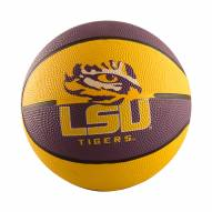 LSU Tigers Mini Rubber Basketball