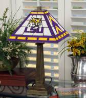 LSU Tigers Mission Table Lamp