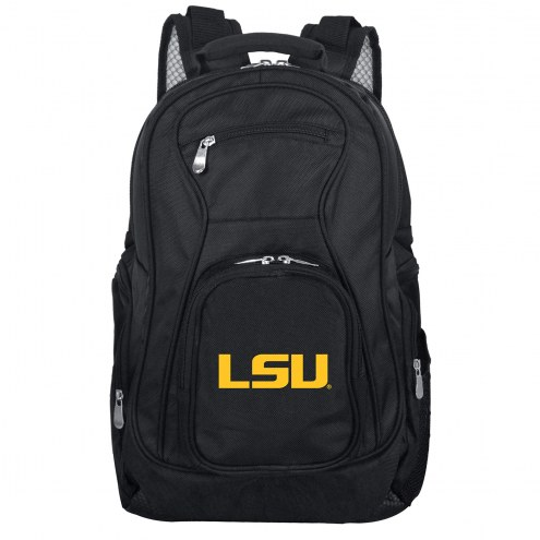 LSU Tigers Laptop Travel Backpack