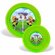 LSU Tigers Children's Plate & Bowl Set