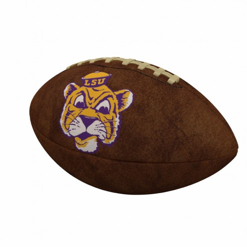 LSU Tigers Official Size Vintage Football