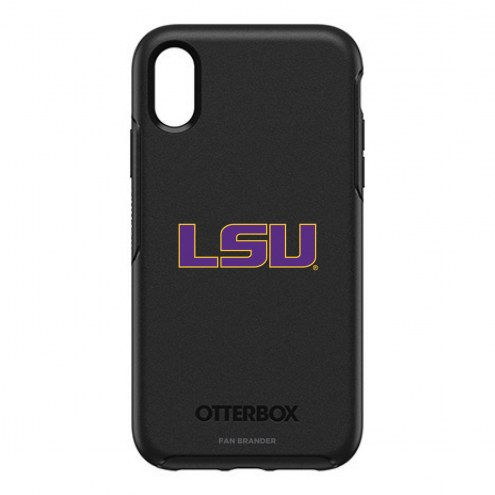 LSU Tigers OtterBox iPhone XR Symmetry Black Case
