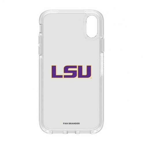 LSU Tigers OtterBox iPhone XR Symmetry Clear Case