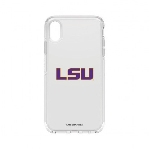 LSU Tigers OtterBox iPhone XS Max Symmetry Clear Case