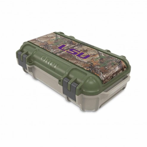 LSU Tigers OtterBox Realtree Camo Drybox Phone Holder