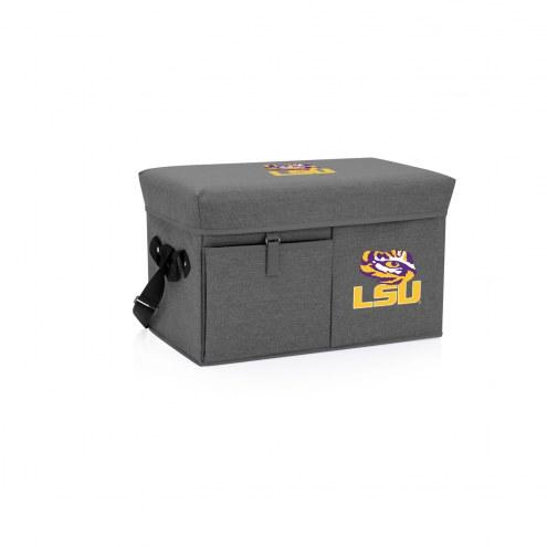 LSU Tigers Ottoman Cooler & Seat