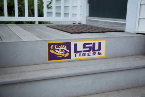 LSU Tigers Outdoor Step Graphic