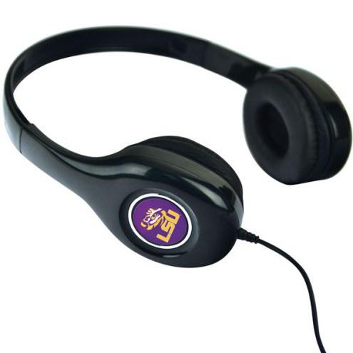LSU Tigers Over the Ear Headphones