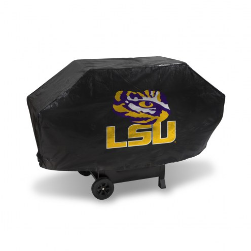 LSU Tigers Padded Grill Cover