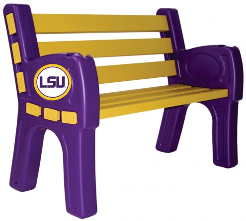 LSU Tigers Park Bench