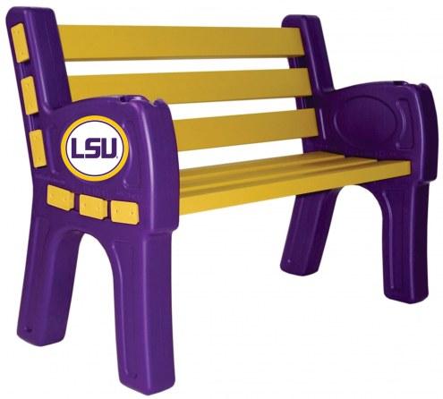 LSU Tigers Park Bench