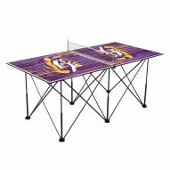 LSU Tigers Pop Up 6' Ping Pong Table