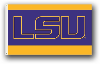 LSU Tigers Premium 3' x 5' Flag - Alternate