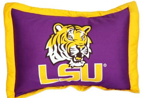 LSU Tigers Printed Pillow Sham