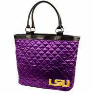 LSU Tigers Quilted Tote Bag