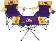 LSU Tigers Table & Chairs Set