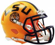 LSU Tigers Riddell Speed Mini Collectible Football Helmet