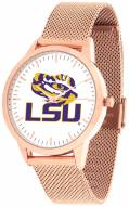 LSU Tigers Rose Mesh Statement Watch