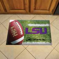LSU Tigers Scraper Door Mat
