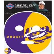 LSU Tigers Set of 4 Game Day Faces