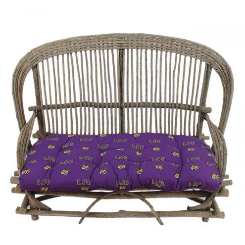 LSU Tigers Settee Chair Cushion