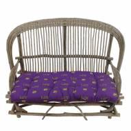 LSU Tigers Settee Chair Cushion