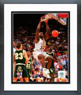LSU Tigers Shaquille O'Neal 1991 Action Framed Photo