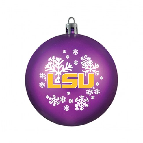 LSU Tigers Shatterproof Ball Ornament
