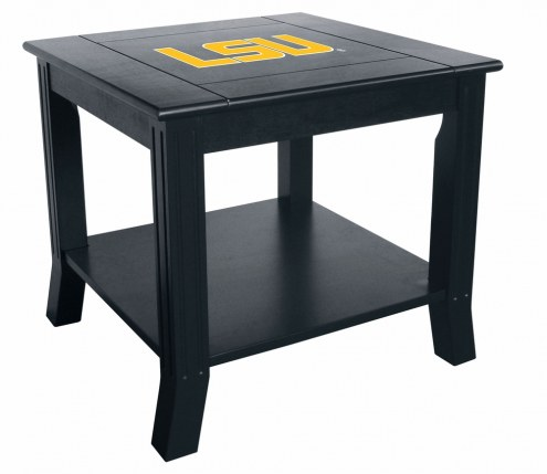 LSU Tigers Side Table