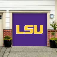 LSU Tigers Single Garage Door Banner