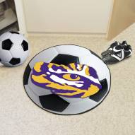 LSU Tigers Soccer Ball Mat